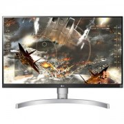Телевизор LG 27UK650-W, 27 инча Wide LED, IPS Panel Anti-Glare, sRGB 99%, Cinema Screen, 5ms, 1000:1, Mega DFC, 450 cd/m2, 3840x2160, HDMI, DisplayPor