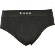 Lupo Seamless Micromodal Slip Brief Underwear Grey 681-1