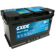 Akumulator za automobil Exide AGM START STOP 12V80AH D+ EK800 ( F21 )