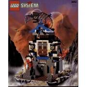 LEGO (LEGO) 3052 Ninja Fire Fortress block toy (parallel import)