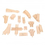 Bigjigs Rail Low Level Track Expansion - Other Major Rail Brands ar...