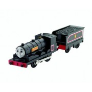 Trackmaster Railway System Thomas And Friends Motorized Road And Rail Battery Powered Tank Engine : Donald With 1 Coal Car (Tracks Not Included)