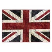 Miliboo Teppich Englische Flagge 95 x 140 cm LONDON