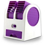 Defloc Portable Desktop Air Conditioner Mini Air Cooler- Purple