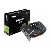 Grafička kartica GeForce GTX1060 MSI Aero 6G OC ITX DDR5,HDMI/DVI-D/3xDP/192bit/GTX 1060 AERO ITX