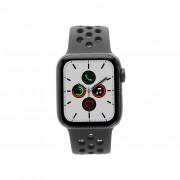 Apple Watch Series 5 Nike+ Aluminiumgehäuse grau 40mm mit Sportarmband schwarz (GPS + Cellular) grau new
