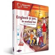 Carte Raspundel - Engleza Si Joc, In Acelasi Loc