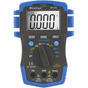 HOLDPEAK 37C Digitális multiméter VDC VAC ADC AAC ellenállás kapacitás hőmérséklet frekvencia TRMS.
