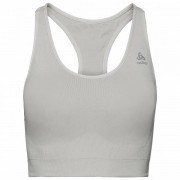 Odlo Women`s Sports Bra Seamless Medium Ceramicool Reggiseno sportivo (XS, grigio)
