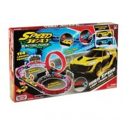 Set de joaca cu 2 masinute High Speed, Loop Track Motormax