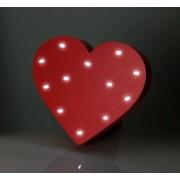 Lampa Hjärta
