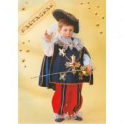 Costume D'Artagnan baby tg. 2/3 anni