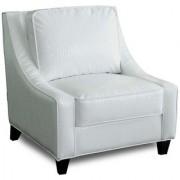 Wooden Design White Chair