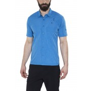 Schöffel Freiburg UV t-shirt Heren blauw S 2017 Overhemden korte mouw