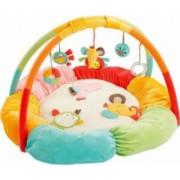Salteluta de joaca Fehn Safari 3D Multicolor