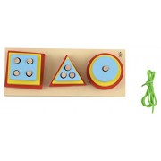 Skillofun Wooden Size Exploration Board, Multi Color