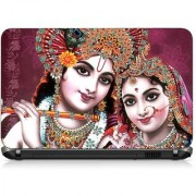 VI Collections LORD KRISHNA PRINT pvc Laptop Decal 15.6