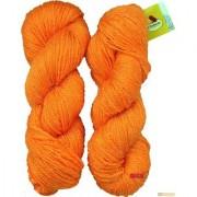 Vardhman Butterfly Orange 200 gm hand knitting Soft Acrylic yarn wool thread for Art & craft Crochet and needle