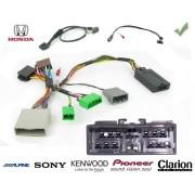 COMMANDE VOLANT Honda CRV -2006 - Pour JVC complet avec interface specifique