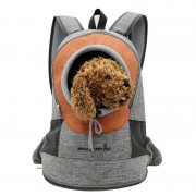 Pet Cat Carrier Puppy Dog Pouch Outdoor Chest Bag Backpack - M