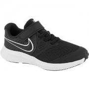 Nike Zwarte Star runner 2 klittenband Nike maat 32