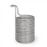 Klarstein Chiller 12, потопяем охладител, охлаждаща намотка, Ø 21.5 cm, 18 намотки, 304 неръждаема стомана (BRD3-Chiller12)