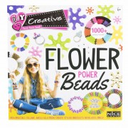 Set creativ margele Flower Power Beads, 1000 piese, Multicolor