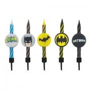 Lumanari aniversare pentru tort Batman Set 10 Buc