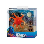 Set figurine Otter si Hank din Finding Dory