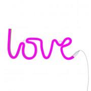 Neonska lampa - Love Pink