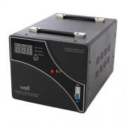Stabilizator automat de tensiune cu servomotor WELL AVR-SRV-XTREME5000-WL, 5000VA/3000W, afisaj digital