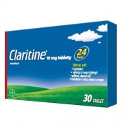 CLARITINE 10MG neobalené tablety 30