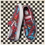 Sneakerși pentru bărbați Vans Classic Slip-On x Marvel Spiderman VA38F79H7