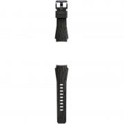 Curea SmartWatch Arik Levy Facet pentru Gear S3, Silicon, Maro