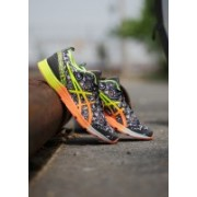 Asics GEL-HYPER TRI 2 Running Shoes For Men(Black, Multicolor)