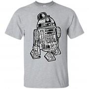 250 - RTP - Roach Graphics - Street R2d2-01 G200 Gildan Ultra Cotton T-Shirt