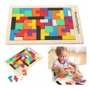 8 X 5 Juegos Juguetes Educativos De Madera Cerebro 8 Color 5 Bloques De Edificio