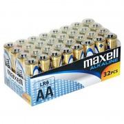 Alkáli Elemek Maxell MXBLR06P32 LR06 AA 1.5V (32 pcs)