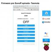 Firmware pre Sonoff spínače- Tasmota