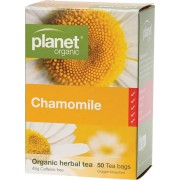 Organic Herbal Tea Bags - Chamomile x50