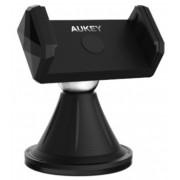 Suport Auto Aukey HD-C18 Universal, Hands-Free, Montare pe Parbriz sau Bordul masinii cu Suport Magnetic, Rotire 360 de grade (Negru)