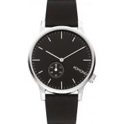 Komono Winston Subs Uhr schwarz silber