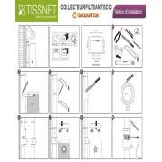 TISSNET Toile de paillage verte 4,20mX50m (130g/m2)