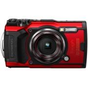 Olympus »Tough TG-6« Outdoor-Kamera (12 MP, 4x opt. Zoom, WLAN (Wi-Fi), rot