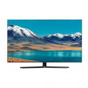 "Телевизор Samsung 55TU8502 55"", 4K Crystal UHD LED TV, SMART, Dual LED, 2800 PQI, Mega Contrast, HDR 10+, Crystal Processor 4K, Dolby Digital Plus, Bixby, AirPlay 2, DVB-T2CS2, WI-FI, 3xHDMI, 2xUSB, Bluetooth, Черен"
