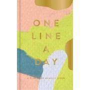 Modern One Line a Day: A Five-Year Memory Book by Moglea