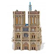 Puzzle 3D din lemn Educa - Notre-Dame de Paris, 148 piese (16974)