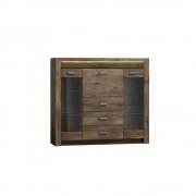 Scaun directorial mesh HM Torino negru