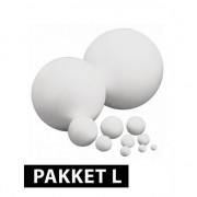 Rayher hobby materialen Piepschuim ballen pakket 10 stuks groot