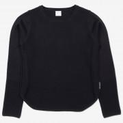 Polarn O. Pyret Finstickad tröja svart 122 128